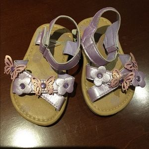 Purple Sandals Size: 3.5